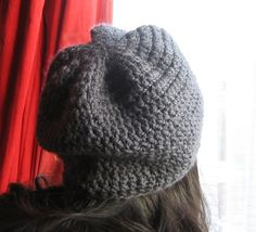 Ravelry: Simple slouch beanie pattern by Monika Ghose