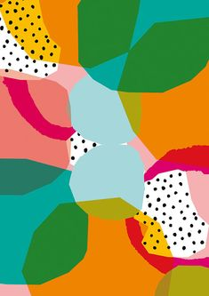 Formes géométriques nº1 - petites et moyennes taille d'archivage qualité tirage d'Art pour la décoration de mur