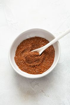 BBQ Chicken Rub is sweet, savory and made with spices you already have on hand! It's a great all purpose rub for chicken, pork or beef! #spicerub #grilledchicken #chickenrecipes Rub Recipes, Spicy Recipes, Grilling Recipes, Fall Recipes, Pork Recipes, Bbq Chicken Rub, Grilled Chicken, Best Chicken Recipes