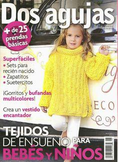 Butterfly Creaciones: revista dos agujas niños y bebés