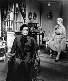"Joan Crawford & Bette Davis ""Whatever Happened to Baby Jane?"" 1962"