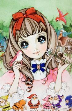 少女ぬりえ   愛しきもの達 りとる愛のブログ Manga Anime, Manga Girl, Anime Art, Anime Girls, Manga Illustration, Illustrations, Anime Kunst, Kawaii Art, Cute Anime Couples