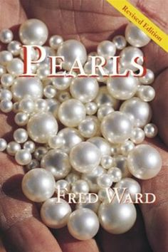 "paper back. about Pearls. not a large book. some photos, more an ""About"" book"