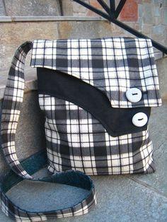 Messenger Bags – Messenger croosbody bag – a unique product by Zayia on DaWanda #handmadebag