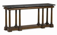 SN-TRA-CONTAB-001 Caracole New Traditional First Impressions Console Table