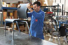 Segis   Last step to finish #Iron chair, created by Bartoli Design