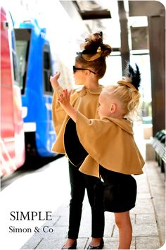 *The Audrey Cape - Tutorial for these adorable capes - So Simple - So Cute!