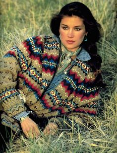 Ralph Lauren | Fall 1981  - Western Chic, Southwestern Style, whatever you want to call it ... is timeless!