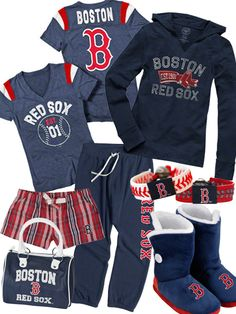 Women's Boston Red Sox Fashion // You can never have enough!