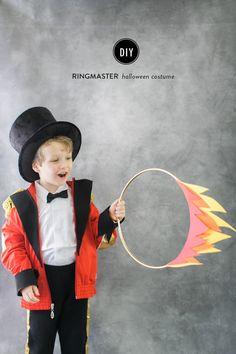 DIY Halloween Costume: Circus Ringmaster: http://www.stylemepretty.com/living/2015/10/07/diy-halloween-costume-circus-ringmaster/ | Photography: Ruth Eileen - http://rutheileenphotography.com/