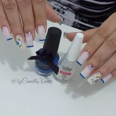 Cute Nail Art, Cute Nails, Manicure, Usb Flash Drive, Claws, Beauty, Rose Nails, Flower Nails, Nice Nails
