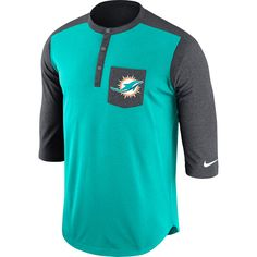 NFL Miami Dolphins New Era CORE Dual Logo T-shirt da uomo