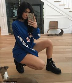Following in Kim's footsteps: Kylie Jenner is also known for mastering the art…
