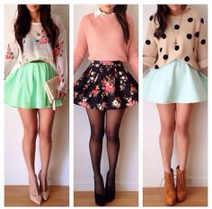 Great summer skirts outfits