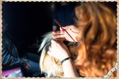 """Hairspray, Bobby Pins & Rock'n'Roll!"" Retro Hairstyle by Ginger Bread Head. Rocket Rockabilly Festival 16•17•18 May 2014 At RUDE Club Photo by @Raikhan Musrepova"