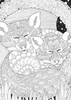 93 Best Animals To Color Images On Pinterest