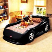 Little Tikes Sports Car Twin Bed, Black