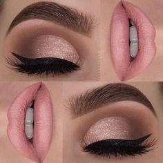 "955 curtidas, 5 comentários - Pausa Para Feminices (@pausaparafeminices) no Instagram: ""Make toda princesa da @makeupthang -------------------- Cutie pie look by @makeupthang """