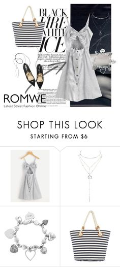 """""""romwe"""" by amii16 ❤ liked on Polyvore featuring Charlotte Russe and ChloBo"""