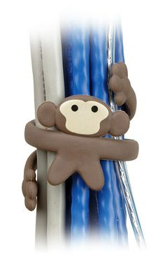 ThinkGeek :: Cable Monkey Cable Organizer