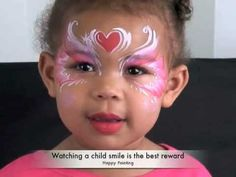 Face Painting Tutorial, Designs and Ideas!
