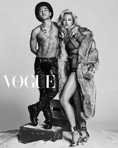 BIGBANG's TAEYANG Vogue Korea Magazine July Issue '14