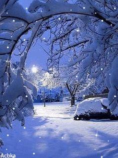 Christmas winter snow Merry Christmas Gif, Christmas Scenery, Winter Scenery, Winter Christmas, Winter Pictures, Christmas Pictures, Gif Noel, Beautiful Winter Scenes, Vintage Christmas