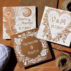 Papiernictvo - Svadobné oznámenie: Linoryt: Kvety - 8143049_