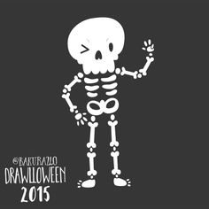 Drawlloween - 24 skeleton