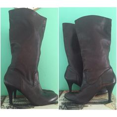 Arturo Chiang Soft Leather Brown Boots sz 10 Butter soft pull on boots by Arturo Chiang. In great condition. Size 10. Arturo Chiang Shoes Heeled Boots