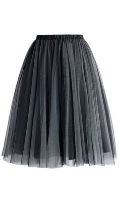With mesh tulle and an eyelet finish, this soft and subtle Amore tulle skirt is super SMOKING!