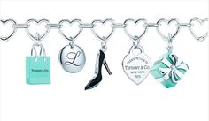 Dream charm bracelet from Tiffany and Co. <3