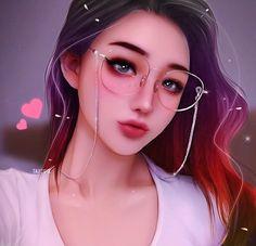 ART 🎨🎨🎨's media statistics and analytics Digital Art Anime, Digital Art Girl, Kawaii Anime Girl, Anime Art Girl, Girl Cartoon, Cartoon Art, Cute Girl Drawing, Girly Drawings, Beautiful Anime Girl