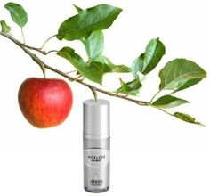 Ageless Kök Hücre Teknolojisi İçeren Yaşlanma Karşıtı Serum  Elma kök hücre teknolojisi ile birlikte benzersiz bir kozmesütik alfa hidroksi asit karışımı serumdur. Antioksidan içeriği ile ışıldayan, aydınlık bir cilt yapısı sağlamaktadır.