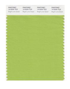 PANTONE SMART bright lime green