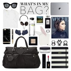 """""""Kerikitbags"""" by mada-malureanu ❤ liked on Polyvore featuring Kate Spade, Parker, Victoria Beckham, By Terry, Bobbi Brown Cosmetics, Jo Malone, CÉLINE, Menu, Polaroid and Frends"""