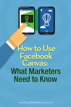 Have you heard of Facebook's new mobile ad experience, Facebook Canvas? Want to learn how to create Facebook Canvas ads? Facebook Canvas lets marketers combine images, video, text, and call-to-action buttons in a single, fully immersive mobile ad experience. In this article you'll discover how to create a Facebook Canvas ad.