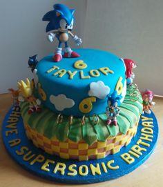 Amazing Photo of Sonic Birthday Cakes . Sonic Birthday Cakes Sonic The Hedgehog Cake Recipes To Cook Sonic Birthday Cake, Sonic Birthday Parties, Sonic Party, Birthday Desserts, Birthday Cake Toppers, Birthday Ideas, 5th Birthday, Birthday Cakes, Bolo Sonic