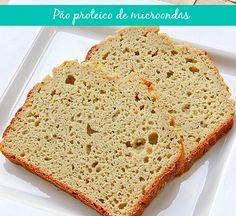 pão proteico é super simples de fazer e fica bem gostoso.