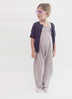 Cali Faye Collection - The Marina Romper PDF pattern and tutorial, sizes 2t - 10, childrens sewing pattern, instant download