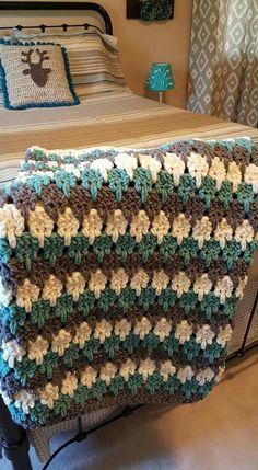 Larksfoot crochet blanket.