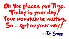 Who does not love Dr. Seuss!