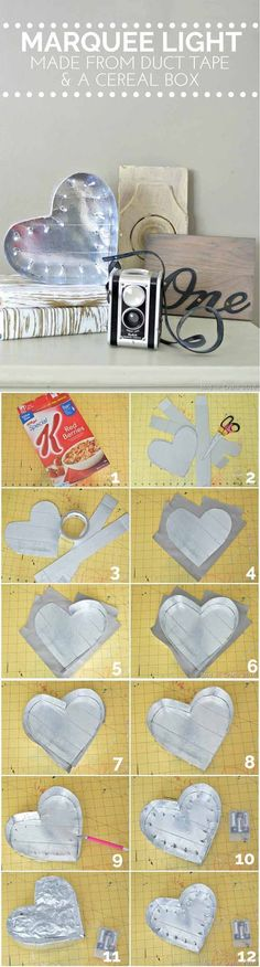 DIY Cereal Box Decorations | 28 Things You Can Make From Cereal Boxes | Cool And Fun Crafts For Kids by DIY Ready at   http://diyready.com/28-things-you-can-make-from-cereal-boxes/