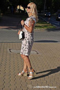 Babooshka Style - Blog modowy: Ptaszki w mieście - sukienka z printem
