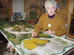 Margaret Agner |  Hand-Painted Silk