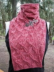 Ravelry: Twisted Ribbons Scarf and Cowl pattern by Kristi Holaas