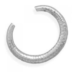 MMA Silver - Tapered Hammered Cuff MMA Silver. $339.00
