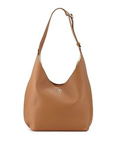 8e596f451722 Tory Burch Perry Leather Hobo. Small Makeup BagPebbled ...
