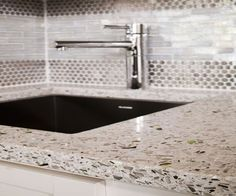 Bon Hoffman CountertopsEnvironmentally Friendly Recycled Glass Countertops For  The Kitchen. |