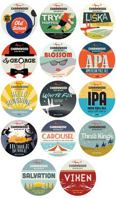 Charnwood Brewery needed a strong brand identity and beer designs to stand out in the micro-brewery market. a dozen eggs created brewery branding & design. Beer Labels, Bottle Labels, Cider Brewery, Design Agency, Branding Design, Beer Infographic, Craft Ale, Brewery Design, Beer Mats